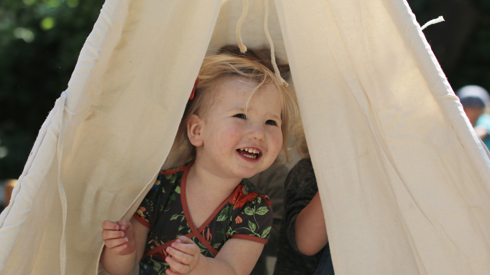 Lieve in tent